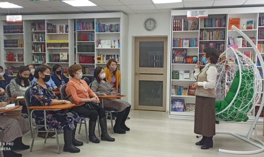 Делегация с Мегино-Кангаласской ЦБС посетила библиотеку нового поколения «Эйгэ»